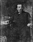 Eastman Johnson Grover Cleveland painting