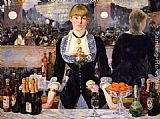 Eduard Manet A Bar at the Folies-Bergere painting