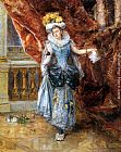 Eduardo Leon Garrido Dressed for the Ball painting
