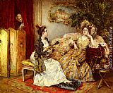 Eduardo Leon Garrido The Serenade painting