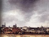 Egbert van der Poel View of Delft after the Explosion of 1654 painting