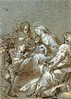 Federico Fiori Barocci The Adoration of the Magi painting