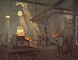 Fernand-Anne Piestre Cormon A Forge painting
