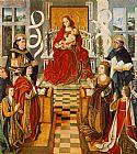 Fernando Gallego Madonna of the Catholic Kings painting