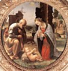 Fra Bartolommeo The Adoration of the Christ Child painting