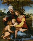 Fra Bartolommeo The Madonna and Child in a Landscape with Saint Elizabeth and the Infant Saint John the Baptist painting