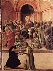 Fra Filippo Lippi Madonna and Child with Saints and a Worshipper painting