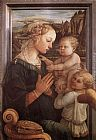 Fra Filippo Lippi Madonna with the Child and two Angels painting