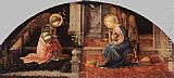 Fra Filippo Lippi The Annunciation painting