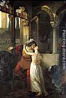 romeo and juliet Paintings - The Last Kiss of Romeo and Juliet
