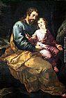 Francisco de Herrera the Elder St Joseph and the Child painting