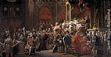 Francois Gerard The Coronation of Charles X painting