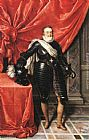 Frans Pourbus the Younger Henry IV, King of France in Armour painting