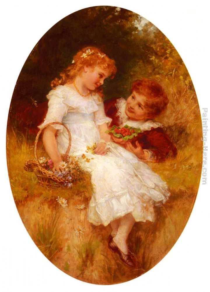 Frederick Morgan Childhood Sweethearts