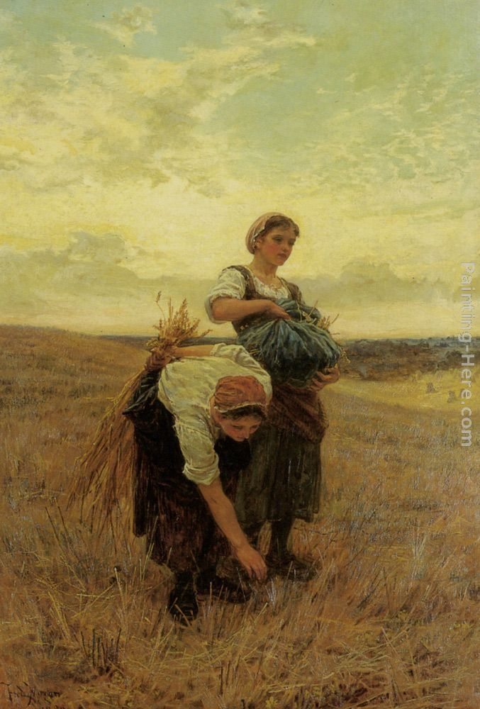 Frederick Morgan The Gleaners