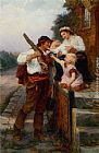 Frederick Morgan A Fathers Return painting