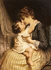 Frederick Morgan Motherly Love painting