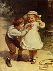 Frederick Morgan Sweethearts painting