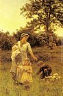Frederick Morgan The Garland painting