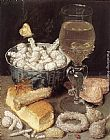 Georg Flegel Still-Life with Bread and Confectionary painting
