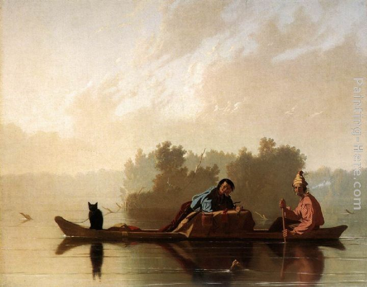 George Caleb Bingham Fur Traders Descending the Missouri