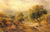 George Turner Cross-O-Th-Hands, Derbyshire painting