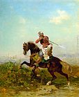 Georges Washington An Arab Warrior painting