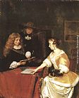 Gerard ter Borch A Concert painting