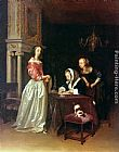 Gerard ter Borch Curiosity painting