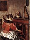 Gerard ter Borch The Concert painting