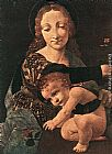 Giovanni Antonio Boltraffio Virgin and Child with a Flower Vase (detail) painting