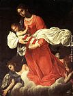 Giovanni Baglione The Virgin and the Child with Angels painting