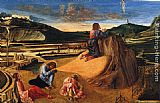 Giovanni Bellini Agony in the Garden painting