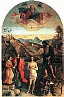 Giovanni Bellini Baptism of Christ painting