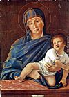 Giovanni Bellini Madonna and Child painting