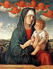 Giovanni Bellini Madonna of Red Angels painting