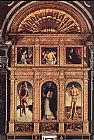 Giovanni Bellini Polyptych of S. Vincenzo Ferreri painting