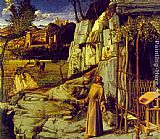 Giovanni Bellini St. Francis in Ecstasy painting
