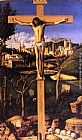 Giovanni Bellini The Crucifixion painting