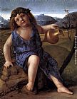 Giovanni Bellini Young Bacchus painting