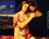 Giovanni Bellini Young Woman at her Toilet painting