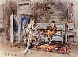 Giovanni Boldini The Conversation painting