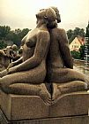 Gustav Vigeland Man and Woman painting