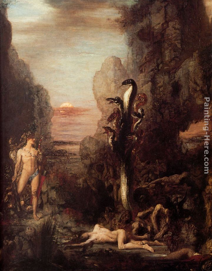 Gustave Moreau Hercules and the Hydra