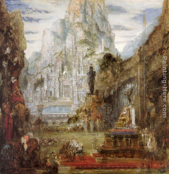 Gustave Moreau The Triumph of Alexander the Great