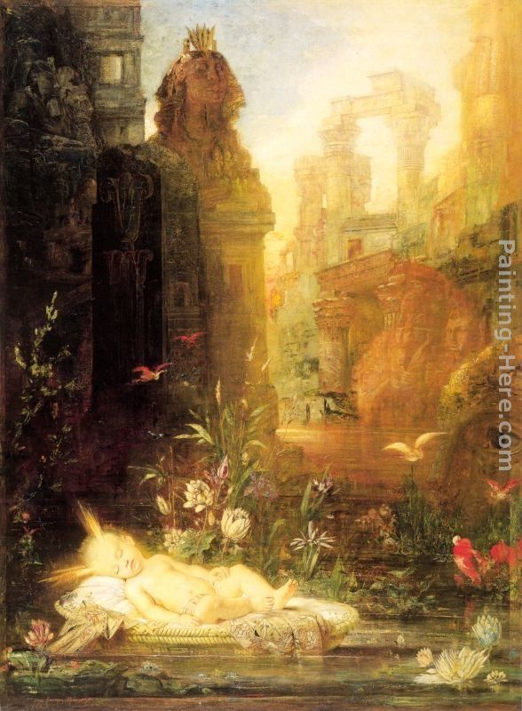 Gustave Moreau Young Moses