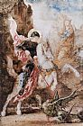 Gustave Moreau Saint Georges painting