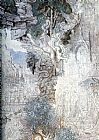 Gustave Moreau The Chimeras - detail painting