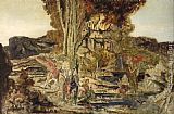 Gustave Moreau The Pierides painting