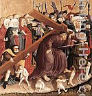 Hans Multscher Christ Carrying the Cross painting